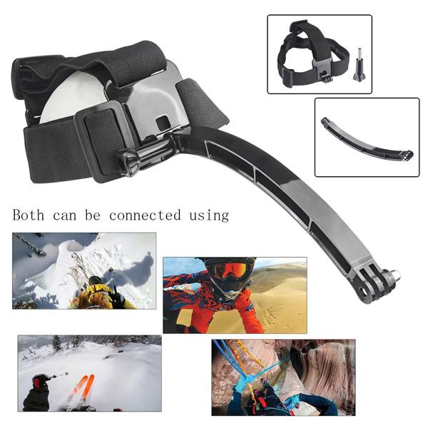 41 in 1 Helmet Chest Belt Head Strap Mount Adapter Accessories Kit Sets for GoPro SJCam XiaoMi