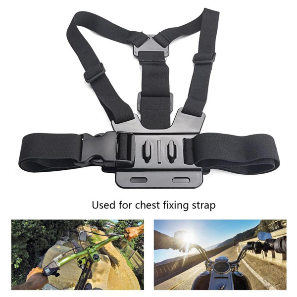 41 in 1 Helmet Chest Belt Head Strap Mount Adapter Accessories Kit Sets for GoPro SJCam XiaoMi