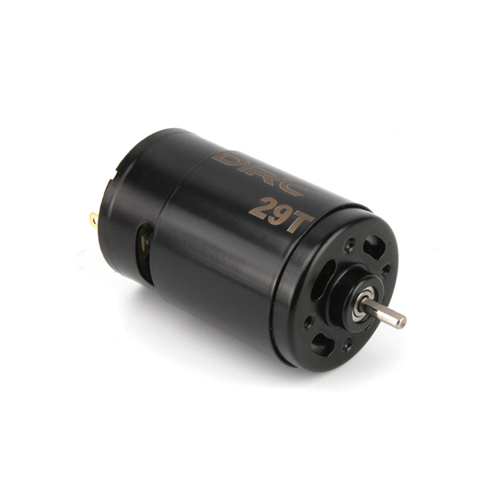 D1RC 550 21T 29T Brushed Motor Shaft 3.175mm Built-in Cooling Fan for 1/8 1/10 Rc Car Parts