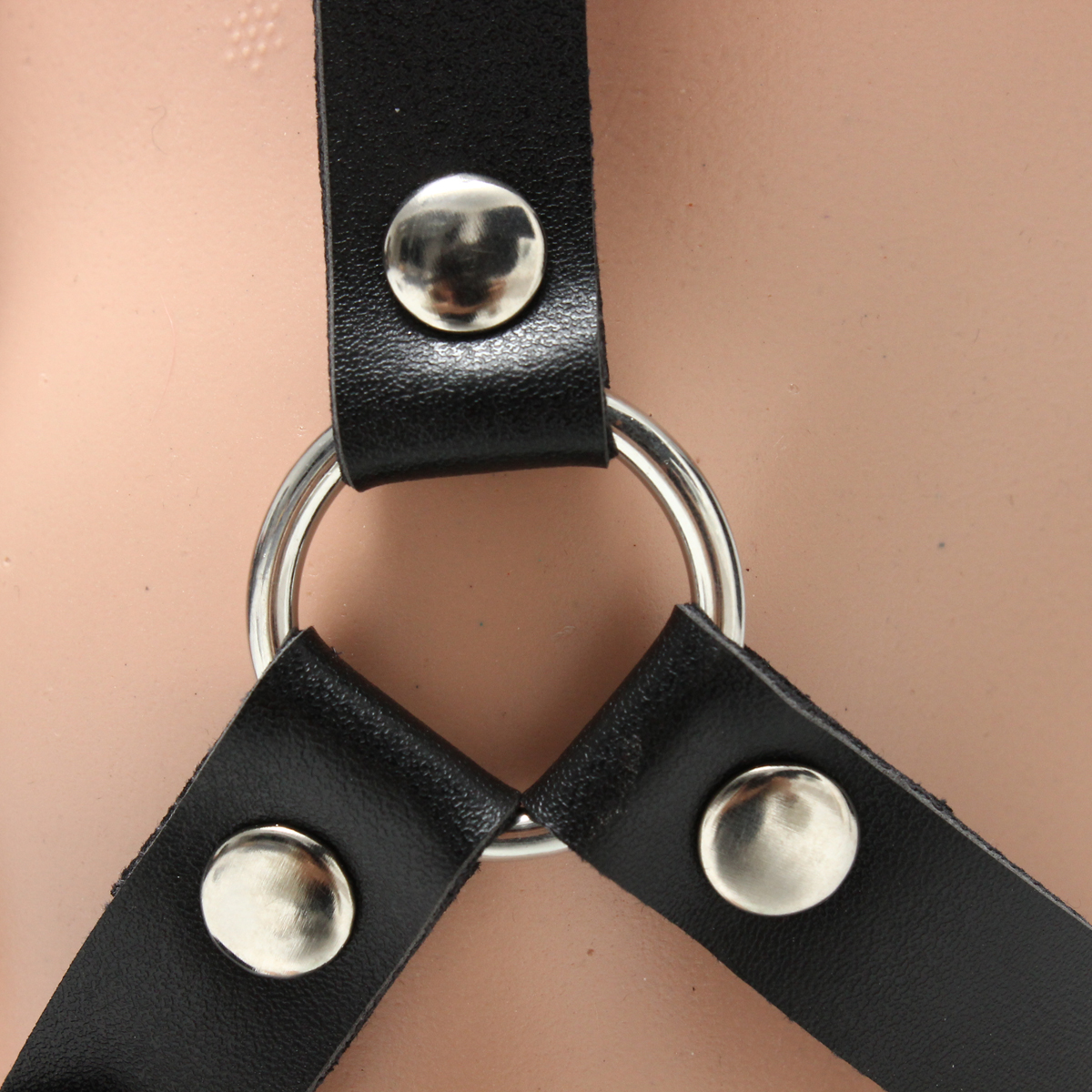 Women Ladies Leather Body Harness Waist Belts Garter Punk Gothic Harness Suspende