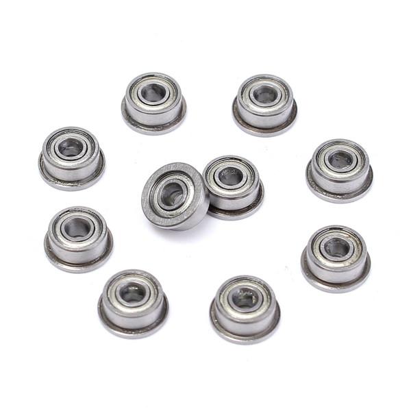 10pcs F693ZZ 3mmx8mmx4mm Double Shielded Flanged Ball Bearings