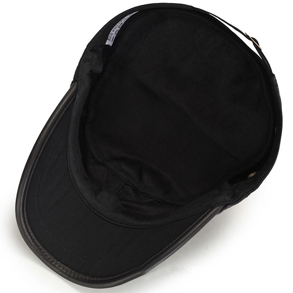 Outdoors Cotton Sunshade Flat Top Hat Cap For Mens