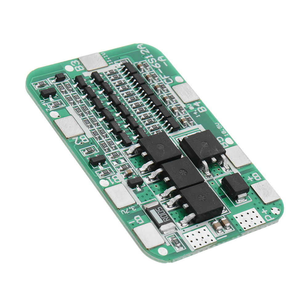 10pcs DC 24V 15A 6S PCB BMS Protection Board For Solar 18650 Li-ion Lithium Battery Module With Cell