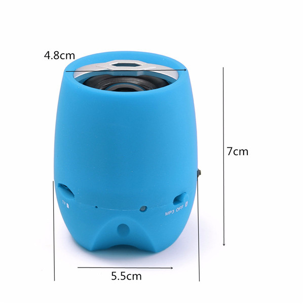 bluetooth Wireless USB Portable Super Bass Stereo Speaker For PC IPAD PHONE