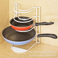 Creative kitchen pot rack wrought iron storage multi-layer kitchen rack kitchen finishing household items explosion models