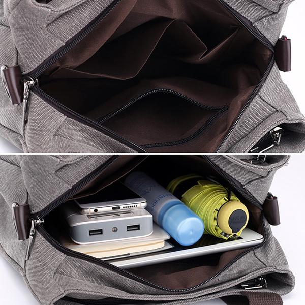 KVKY Canvas Shoulder Bags Summer Shopping Bags Handbag