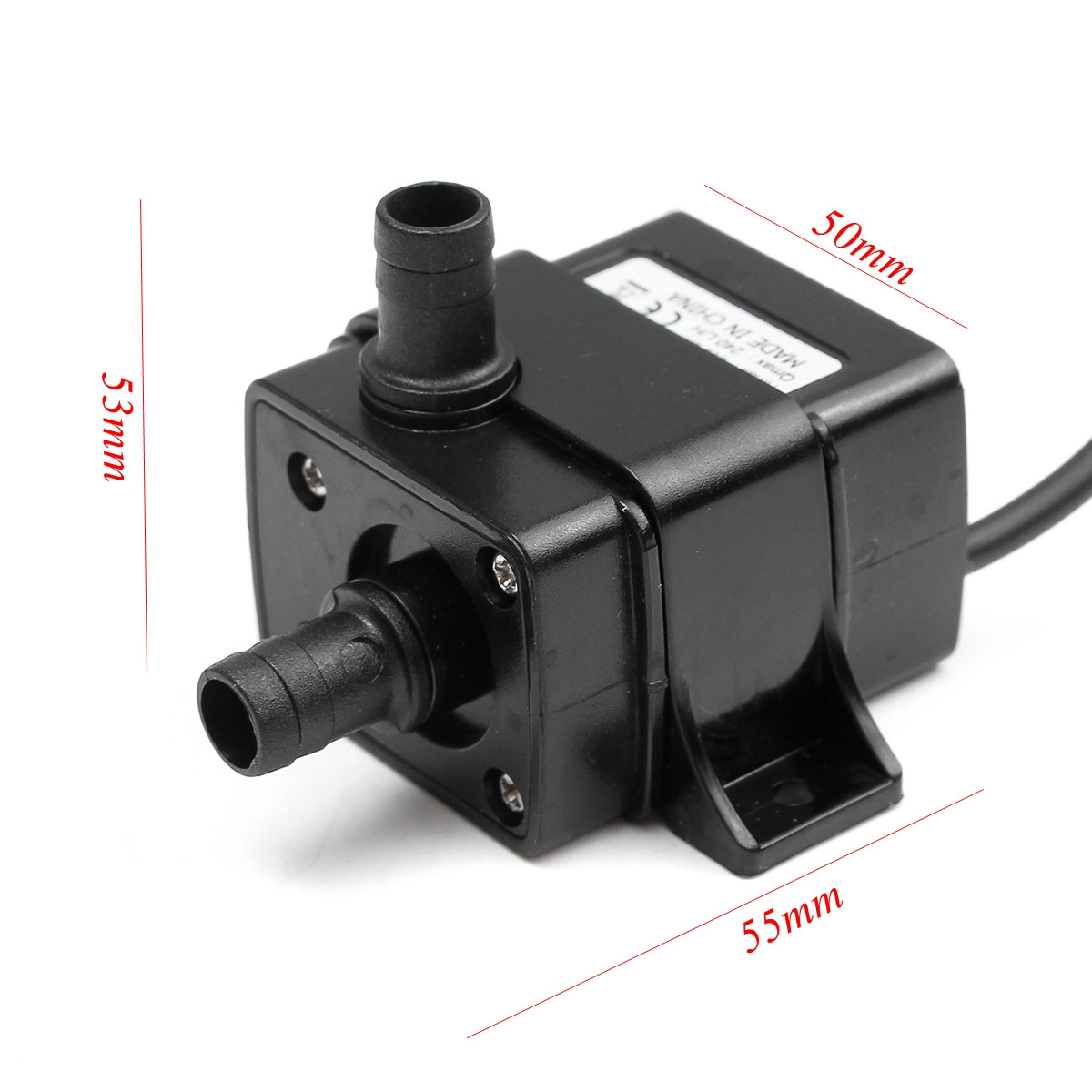 DC12V 4.8W Mini DC Brushless Garden Fountain Pump Hydrological Cycle Submersible Water Pump