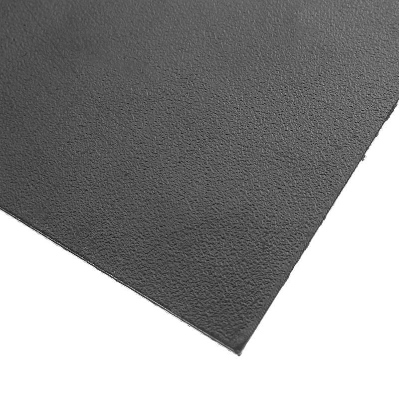 300x100x2mm Black K100 K Plate Plastic Sheet Thermoplastic Forming Panel DIY Knife Sheath Material