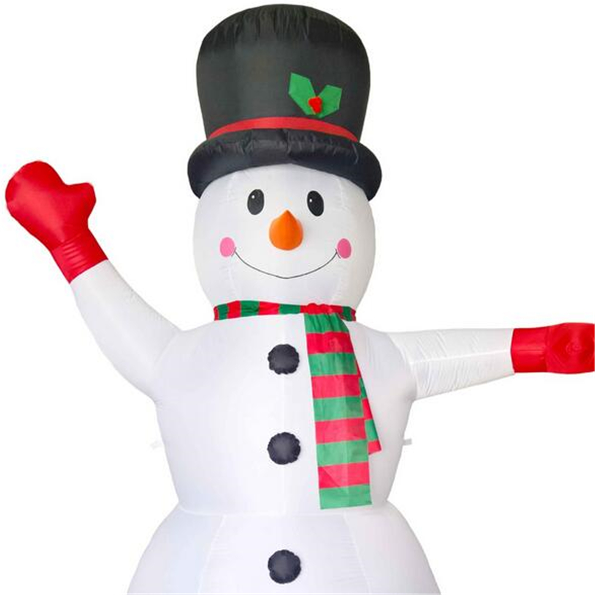 2.4M Airblown Inflatable LED Snowman Christmas Outdoor Home Yard Party Decorations