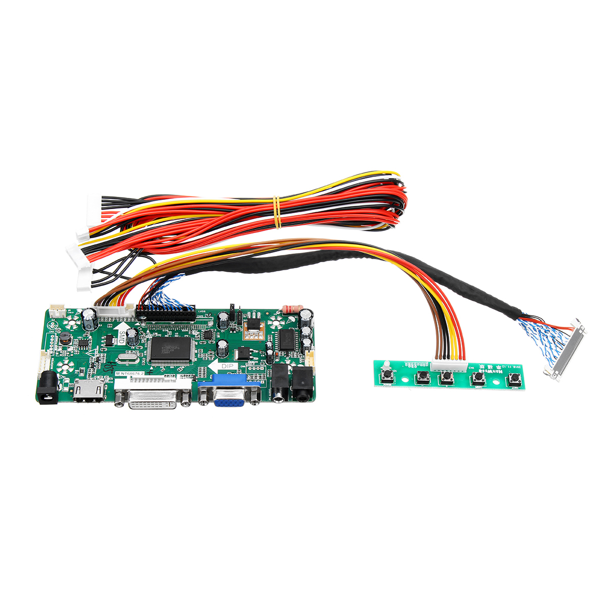 M.NT68676.2A LCD Monitor Controller Board Converter Driver Kit HDMI DVI VGA for 1920x1200 LM240WU2-SLB2