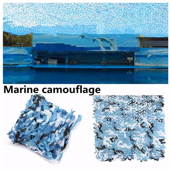 2mx2m Camo Camouflage Net For Car Cover Camping Military Hunting Shooting Hide