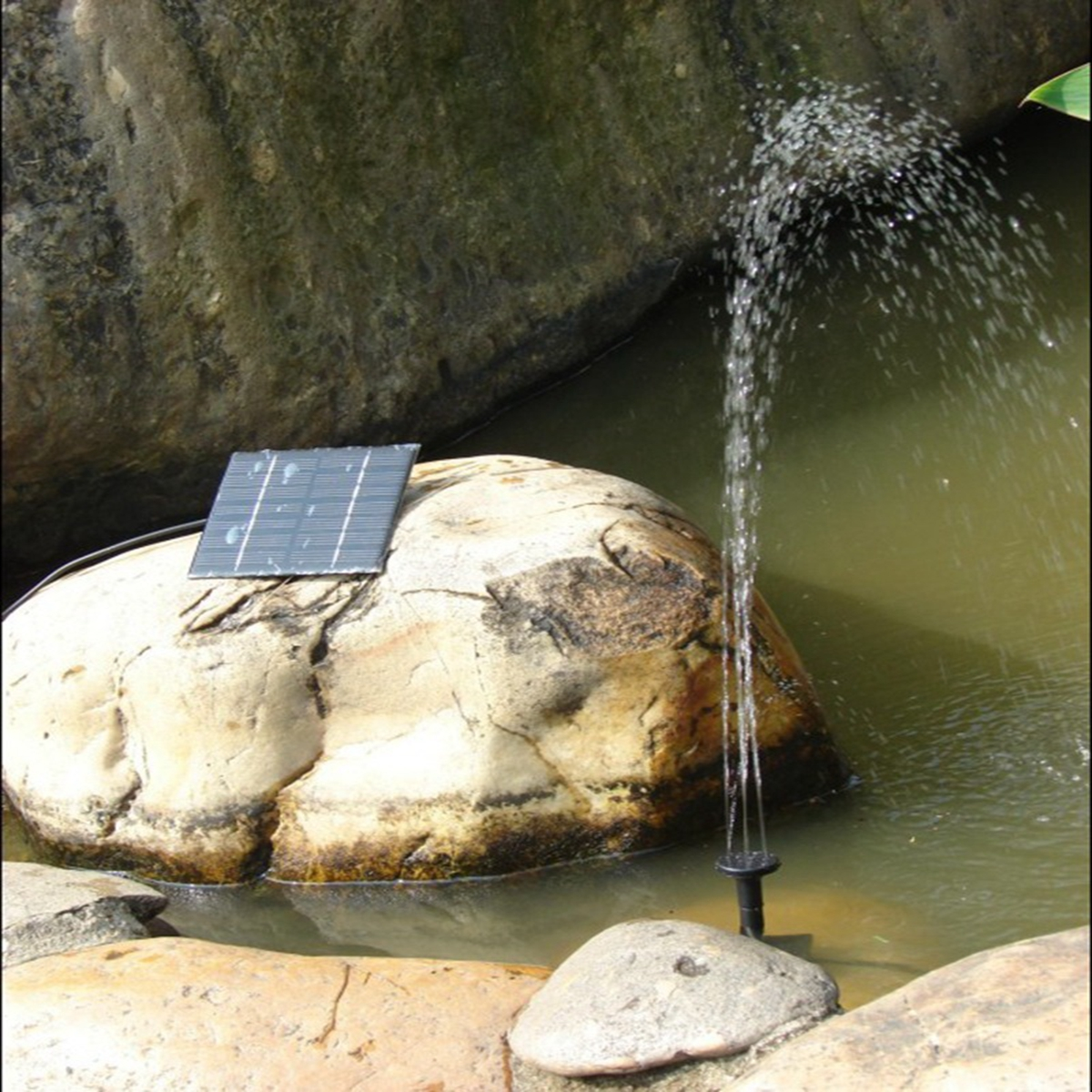 Garden Pool Pond Plants Watering Solar Panel Powered Kit Fountain Water Pump