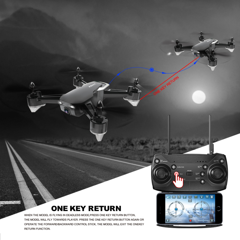 FQ777 FQ40 WIFI FPV With 2MP/0.3MP Camera Altitude Hold Mode RC Drone Quadcopter RTF