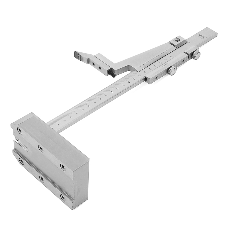 0-200mm/0-300mm Range Steel Vernier Height Gauge with Stand Measure Ruler Tools