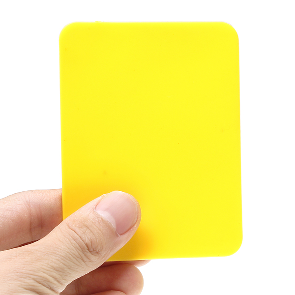 Soccer Champion Yellow And Red Card Referee Warning Card Football Match Record Cards