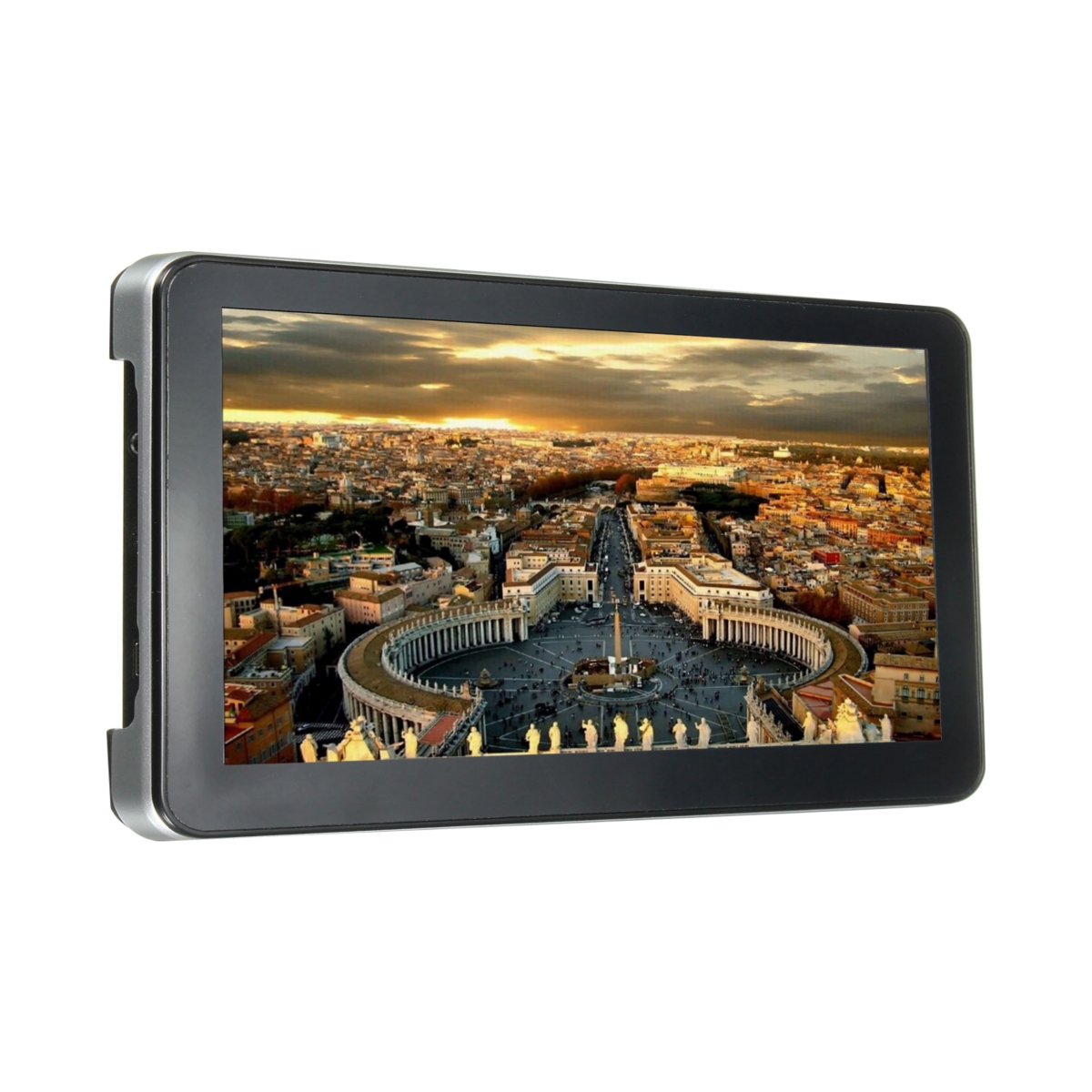 ELEGIANT Car GPS Navigation 7 Inch Touch Screen MTK 128MB 4GB Western Europe FM Radio
