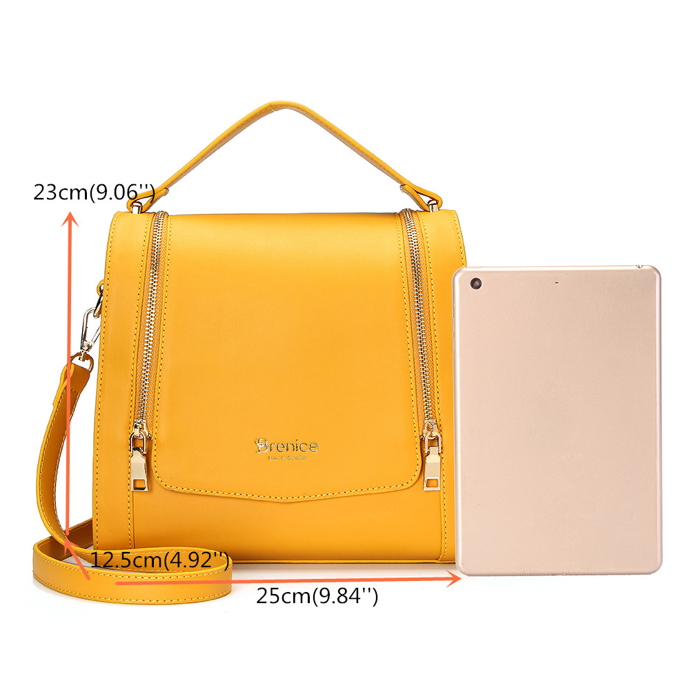 Brenice DREAME Women Design Multifunction Crossbody Bag