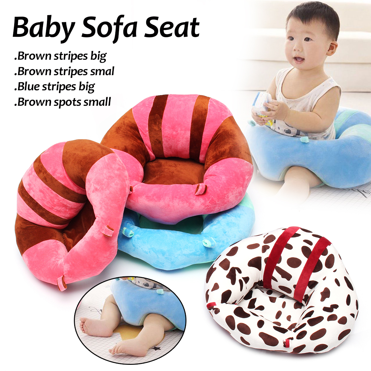 Baby Sofa Support Seat Nursing Pillow Safety Feeding Cushion Pad Chair Plush Toy