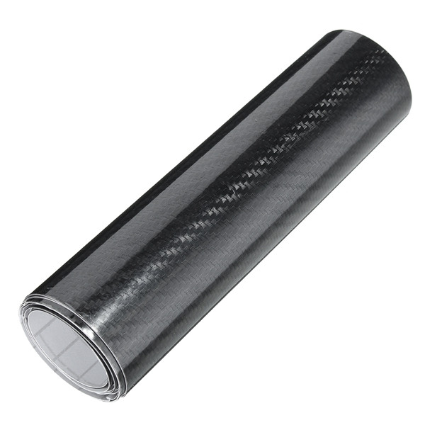 15cmx150cm 5D Carbon Fiber Vinyl Film Car Sticker Shinny Gloss Wrap Decal
