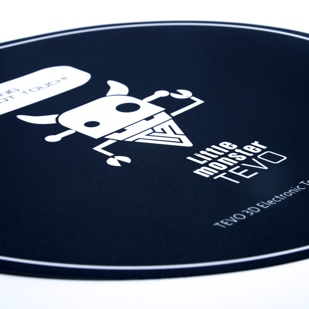 TEVO® 348mm Round Heated Bed Sticker For 3D Printer Special Coarse Sand PC Insulation Film