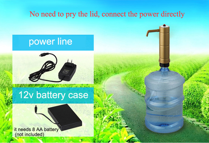 Electric Water Dispenser Automatic Water Pump Bottled Water Electric Pumping
