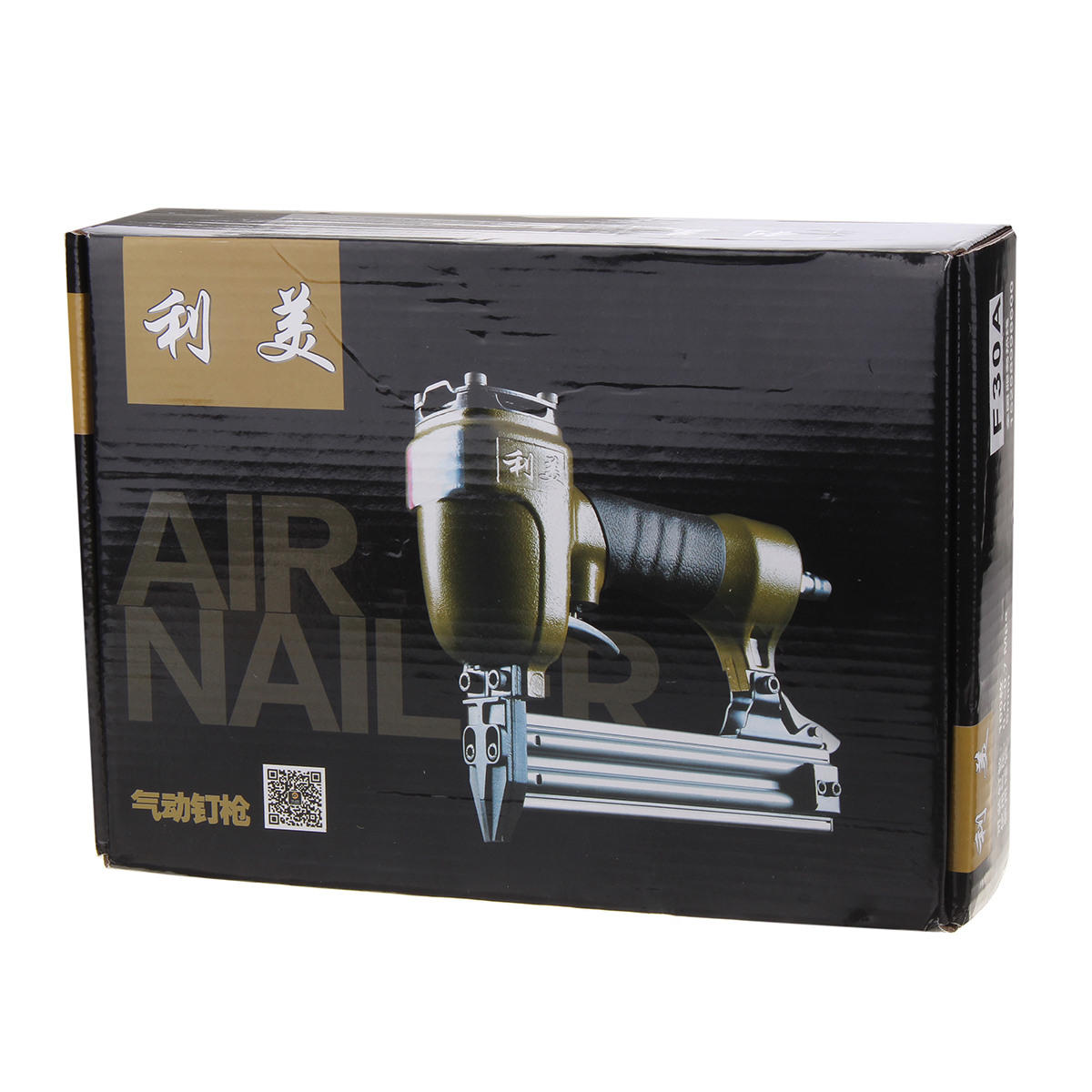 F30-A Air Nailer Gun Straight Nail Gun Pneumatic Nailing Stapler Brad Nailer Kit