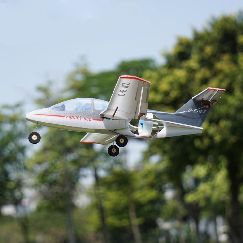MinimumRC Fanjet 360mm Wingspan KT Foam Mini RC Airplane KIT With EDF / EDF + Servos