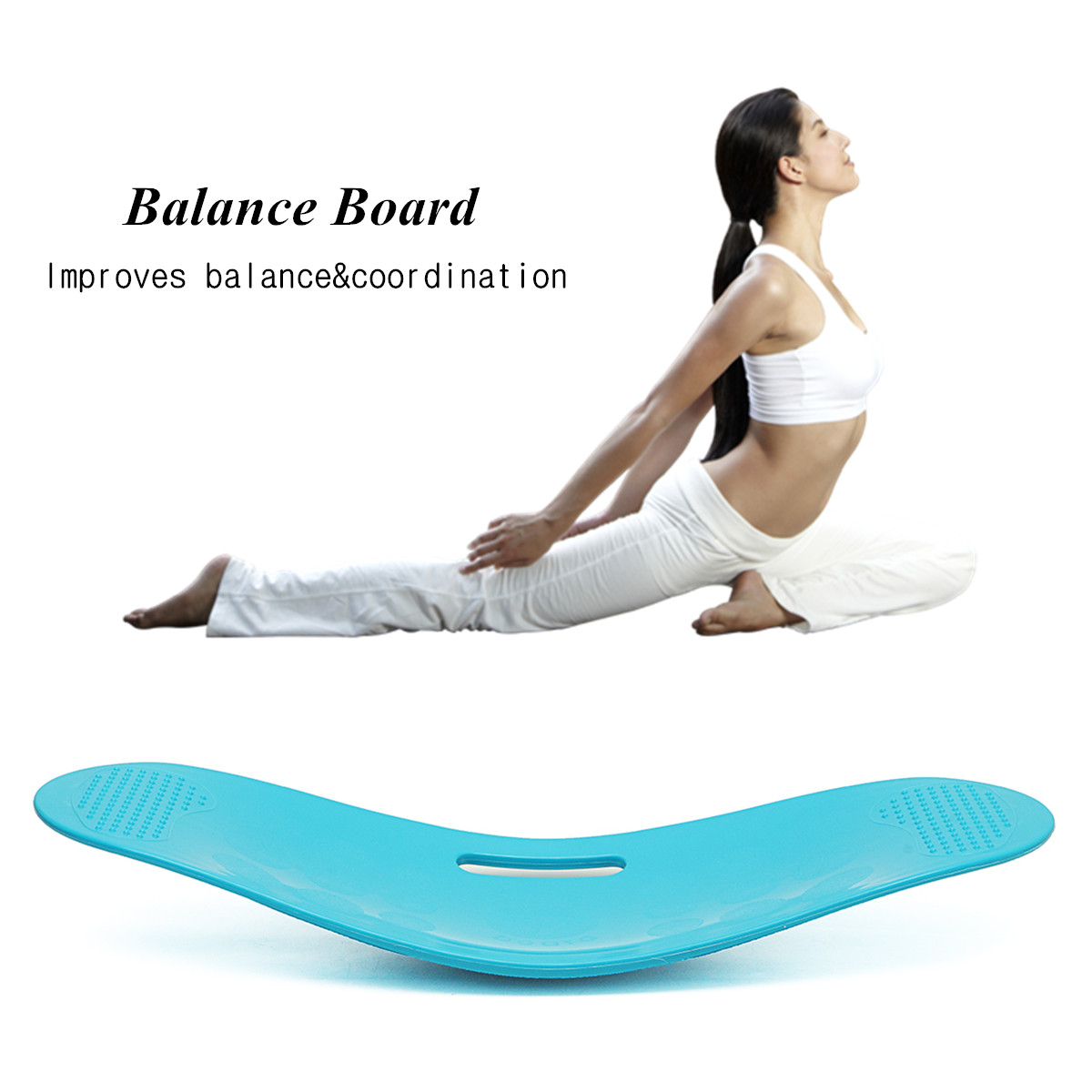 B Board Balance Your Workout: Fitness Exercise Boards Simply Fit Unisex Balance Board