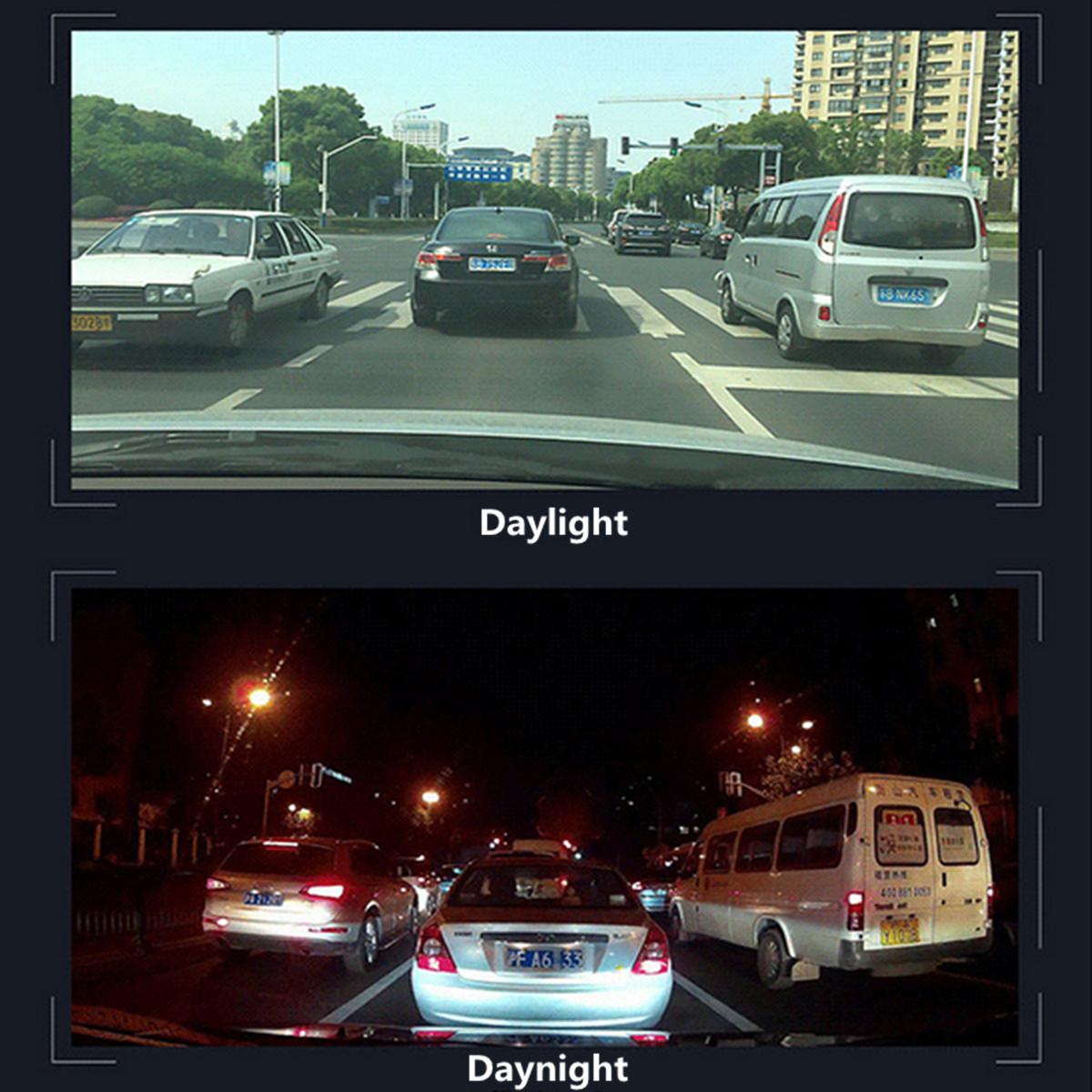 4G Android 5.1 Touch Screen GPS Navigation With Dual Lens Car DVR Rearview Mirror