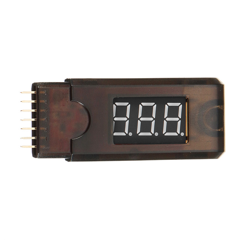 Battery Voltage Tester Checker 1-6S Lipo Battery Display - Photo: 4