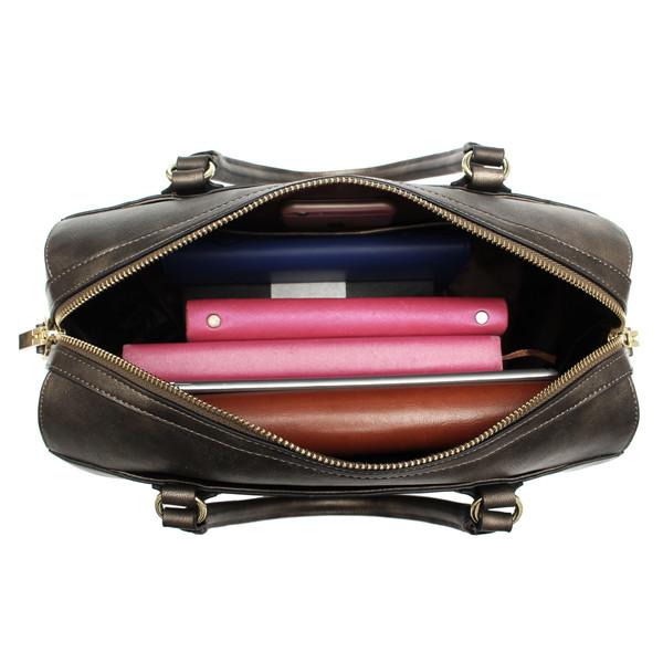 Kadell Women Rivet Tote Handbags Vintage Shoulder Messenger