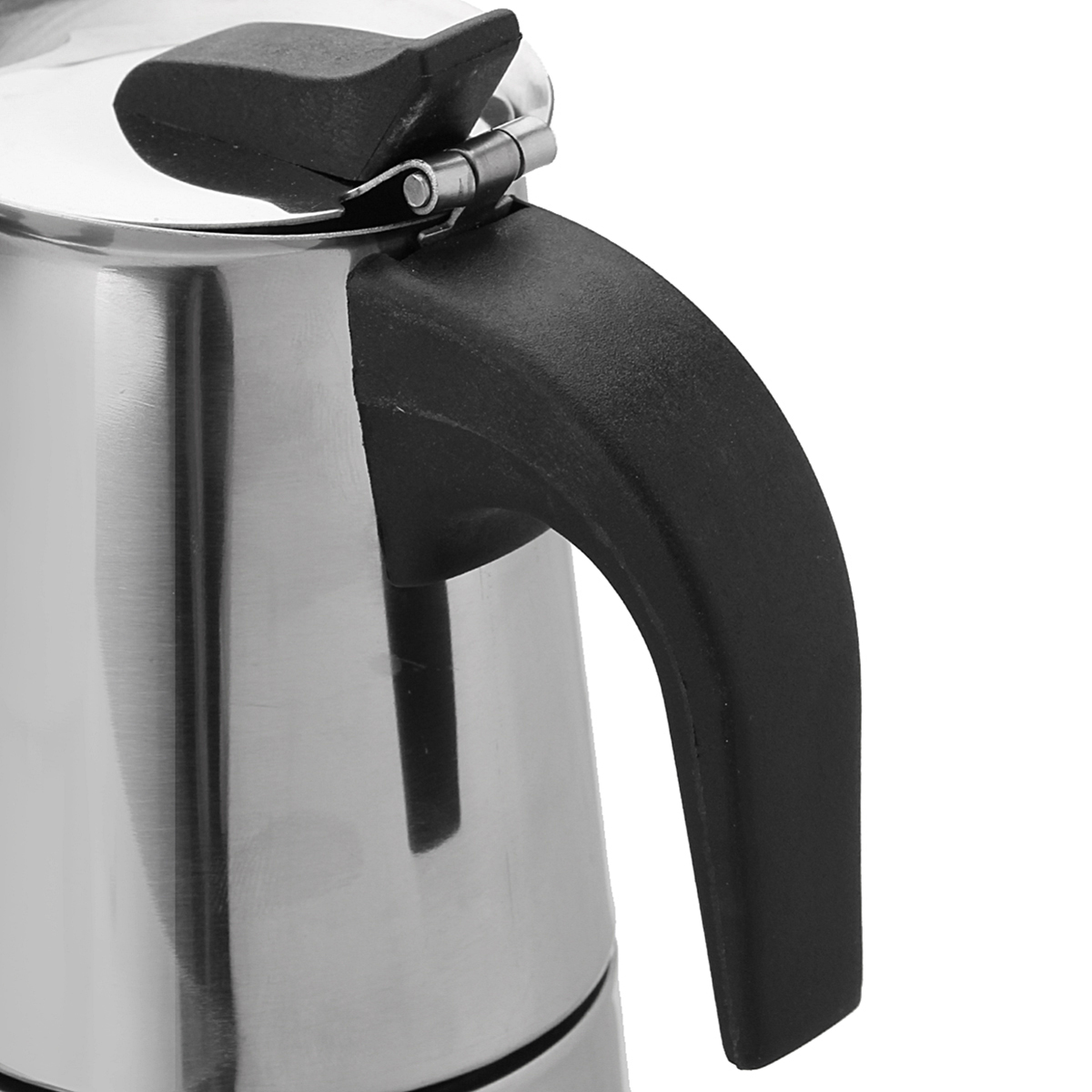 100ML Percolator Stove Top Espresso Moka Coffee Maker Pot Stainless Steel