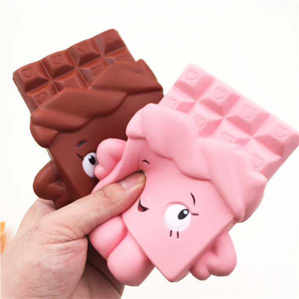 Squishy Chocolate Bar Slow Rising 13cm Jumbo Cute Kawaii Collection Decor Gift Toy
