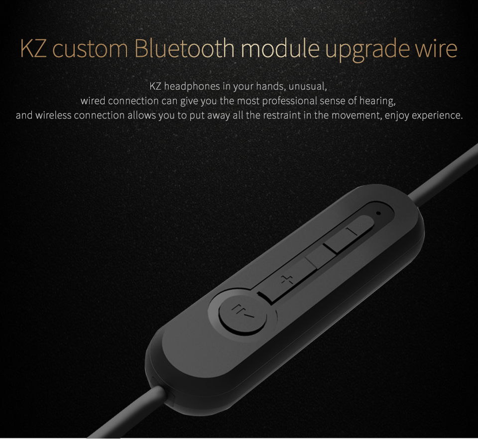 KZ ZS5 ZS6 ZS3 ZST ED12 ES3 HIFI Earphone bluetooth 4.2 2Pin 0.75mm Upgrade Dedicated Replacement Cable