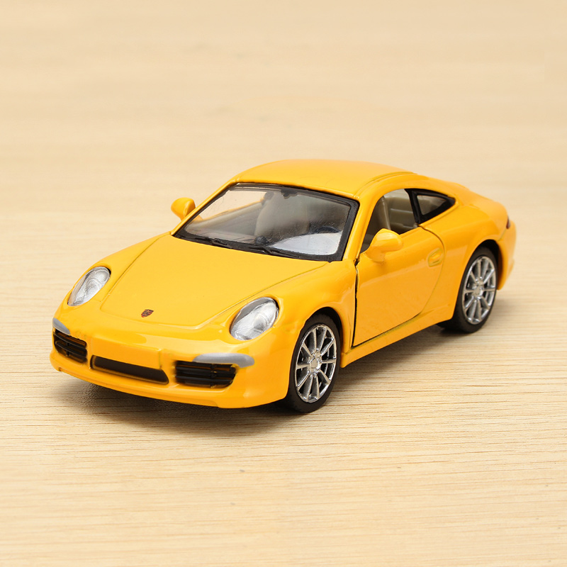 gm porsche 911 carrera s metal modell alloy wind up. Black Bedroom Furniture Sets. Home Design Ideas