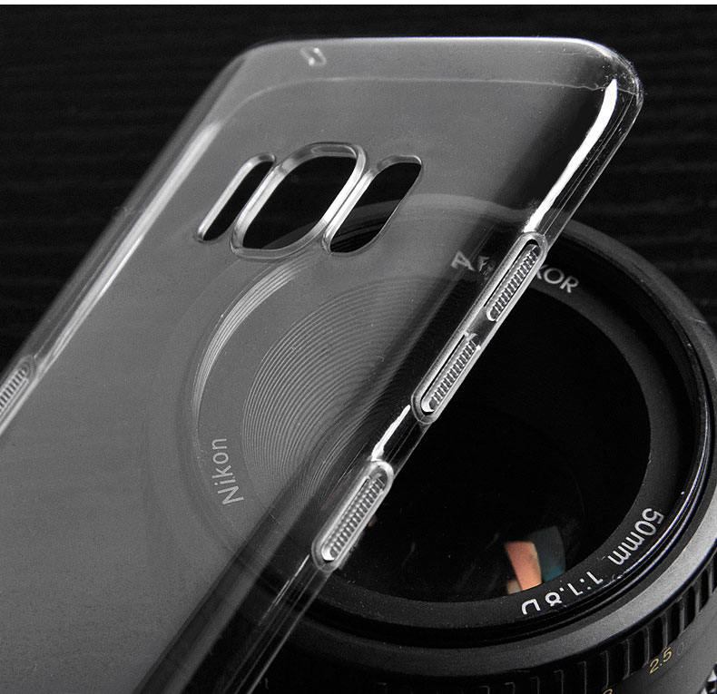 Ultra Thin Clear Transparent Hard PC Back Case Cover for Samsung Galaxy S8 plus