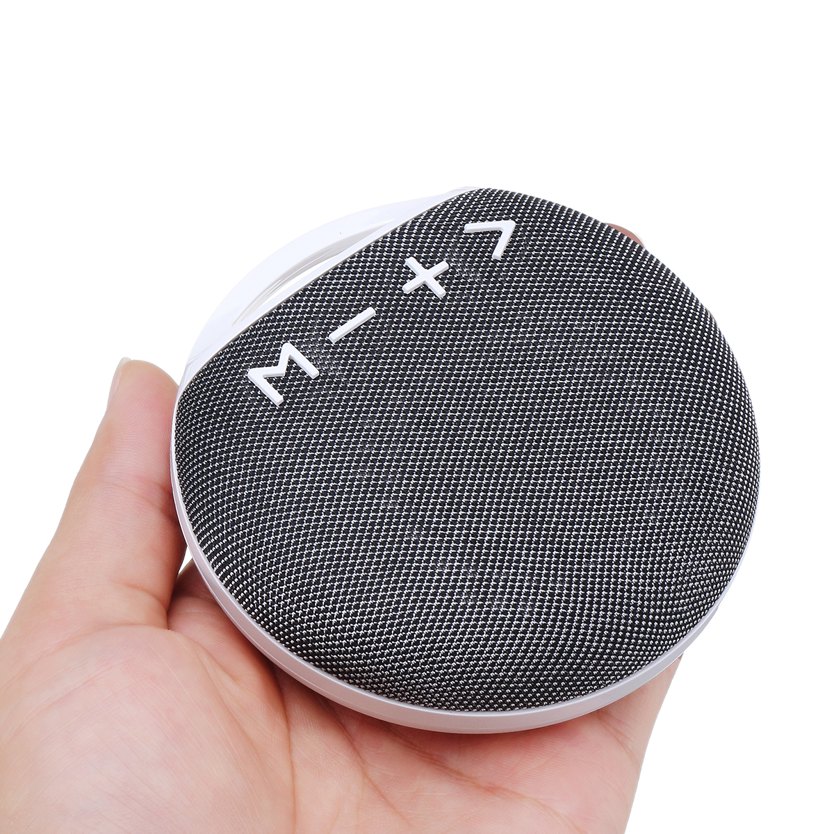 Portable Mini Outdoor Wireless bluetooth Stereo Cloth Speaker with Lanyard Strap Microphone Support TF Card USB