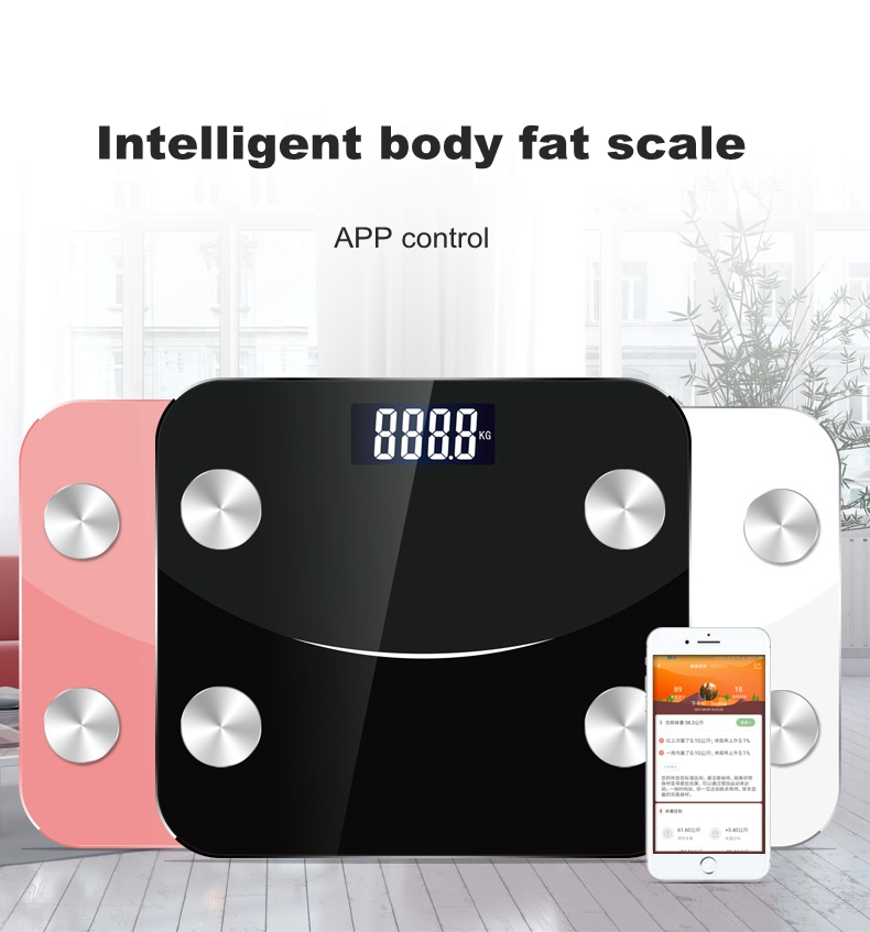 KCASA Intelligent Body Fat Scale App Smart Wireless Scale
