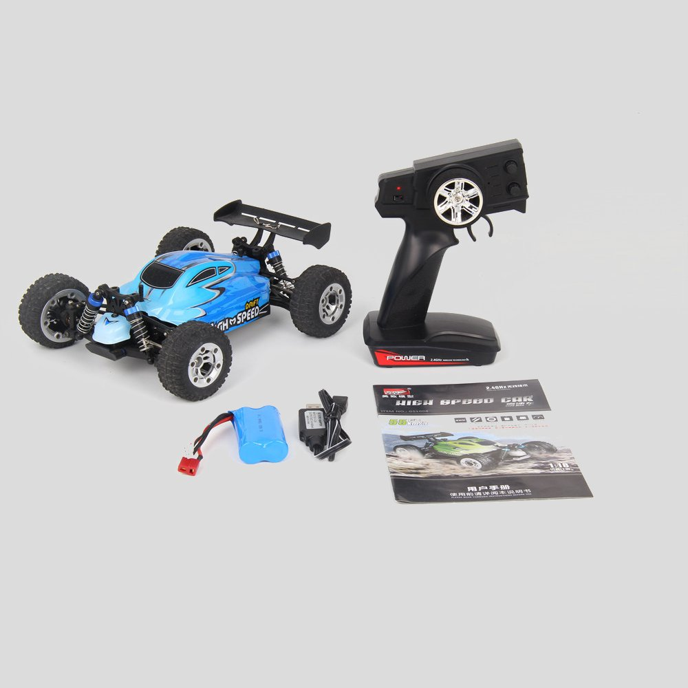 MZ GS1004 1/18 2.4G 4WD 390 Brushed Rc Car 55km/h High Speed Drift Buggy Off-road Truck RTR Toy - Photo: 13