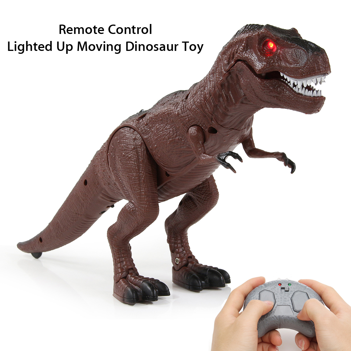 Toys & Hobbies Responsible Desing Battery Operated Dinosaur Toy Realistic Roaring Sound And Walk Gift Animals & Dinosaurs