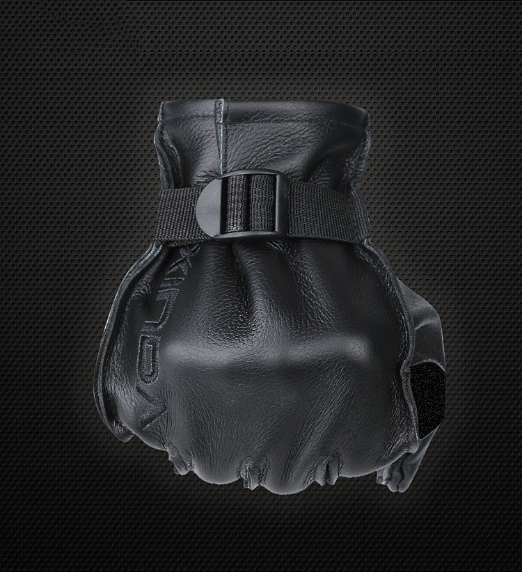 S-55158 Profession Gloves Rock Climbing Cowhide Downhill Equipment Rope Drop Cavern Training