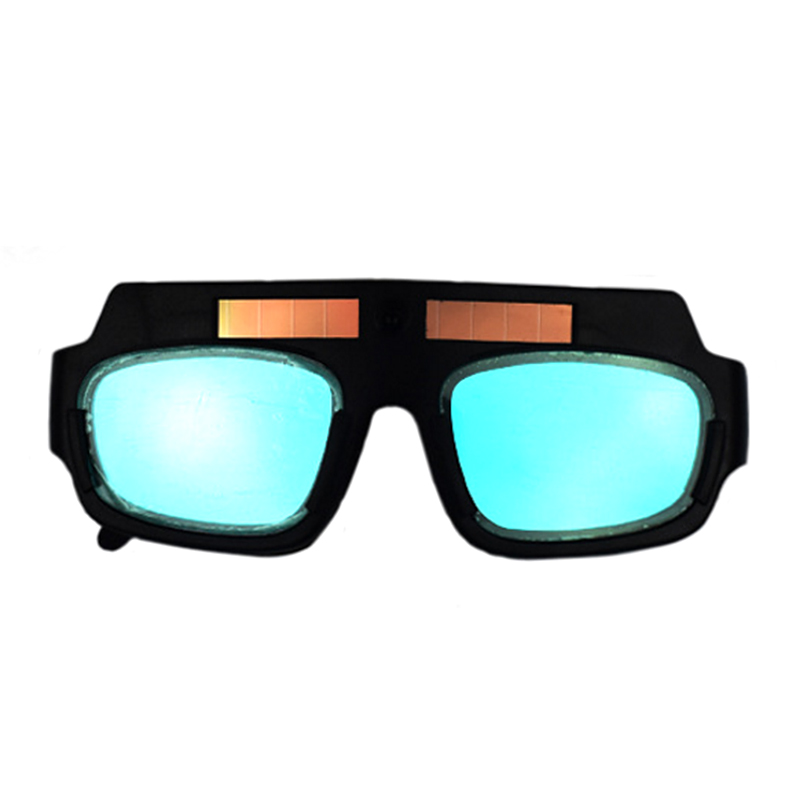 New Solar Powered Auto Darkening Welding Mask Helmet Goggle Glasses Arc PC Lens Great Goggles For Welding Protection