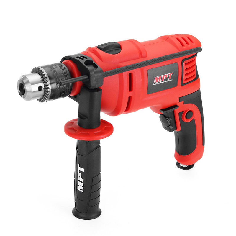 MPT 220V 800W Impact Drill Electric Hammer Electric Drill Power Drill