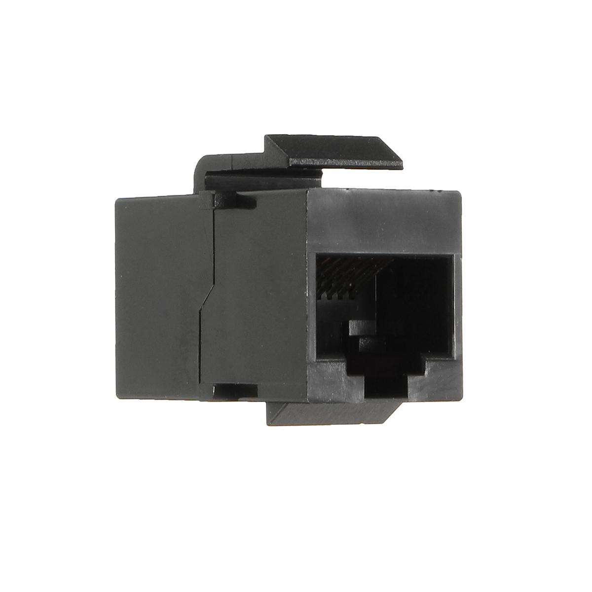 Female Cat6 8p8c RJ45 Gigabit Coupler Network Adapter Shielded Panel Plug 1PC