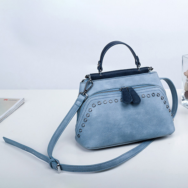 Women Shell Casual Faux Leather Crossbody Bag