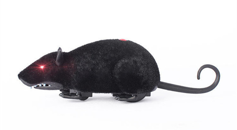 Tricky Infrared Simulation Remote Control Plush Mouse Toys Christmas Funny Kids Children Props
