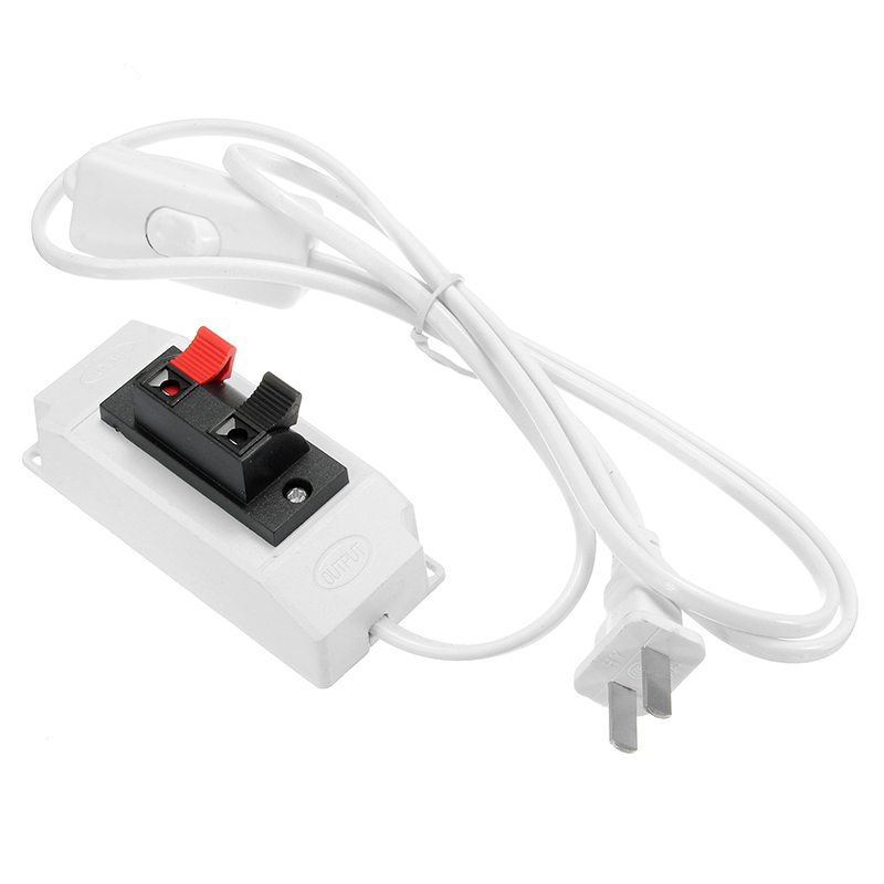 1.5M LED Test Clip Accessories with Switch for Strip Li
