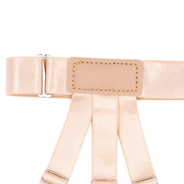 Men Shirt Stays Garters Leg Suspenders Adjustable Elastic Shirt Holder Casual Leg Braces
