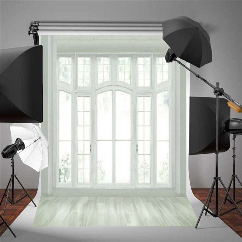 5x7FT European Window Wedding Theme Photography Vinyl Background Backdrop