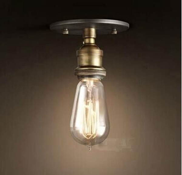 Vintage E27 Coppor Edison Industrial Rustic Sconce Wall Light Lamp